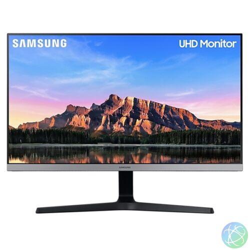 """Samsung 28"""" U28R550UQR LED IPS 4K 2HDMI Display port kék-szürke monitor"""