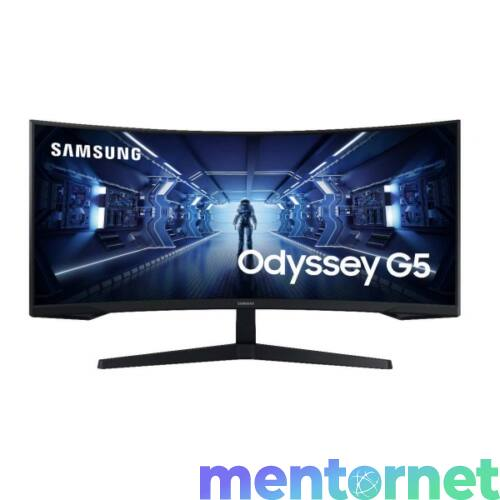 "Samsung 34"" C34G55TWWR WQHD HDMI Display port 165Hz ívelt kijelzős monitor"