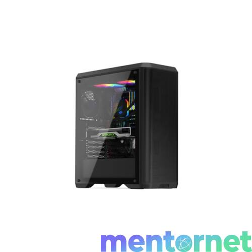 SilentiumPC Ventum VT4 TG Fekete (Táp nélküli) ablakos ATX ház