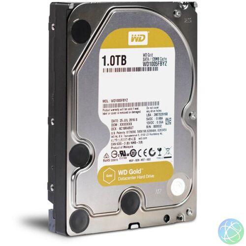 "Western Digital 3,5"" 1000GB belső SATAIII 7200RPM 128MB Gold WD1005FBYZ winchester"