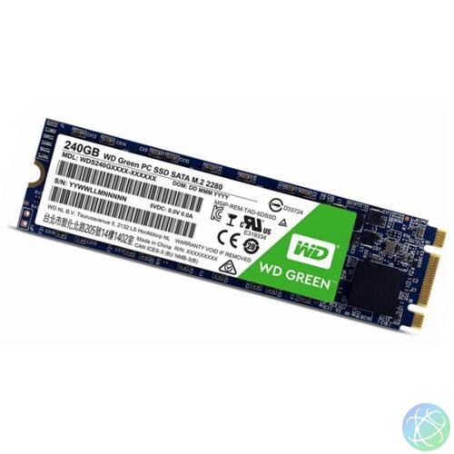 Western Digital 240GB M.2 2280 3D Green (WDS240G2G0B) SSD