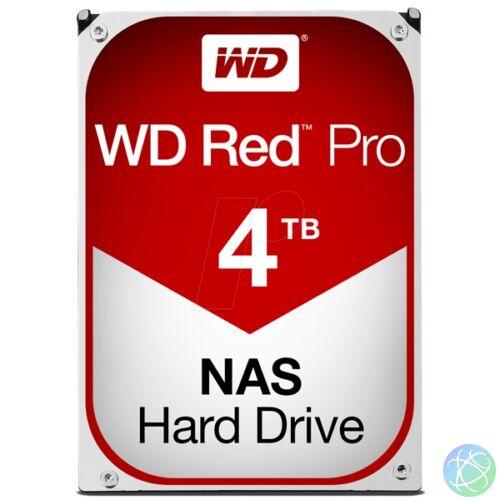 """Western Digital 3,5"""" 4000GB belső SATAIII 7200RPM 256MB RED PRO WD4003FFBX winchester 5 év"""
