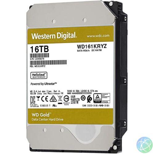 "Western Digital 3,5"" 16000GB belső SATAIII 7200RPM 512MB Gold WD161KRYZ winchester"