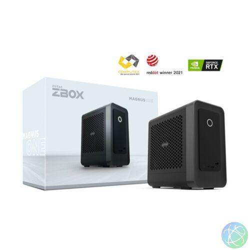 Zotac ZBOX ECM73070C-BE (teljes értékű, NEM LHR RTX 3070 videokártyával!) Intel barbone asztali PC